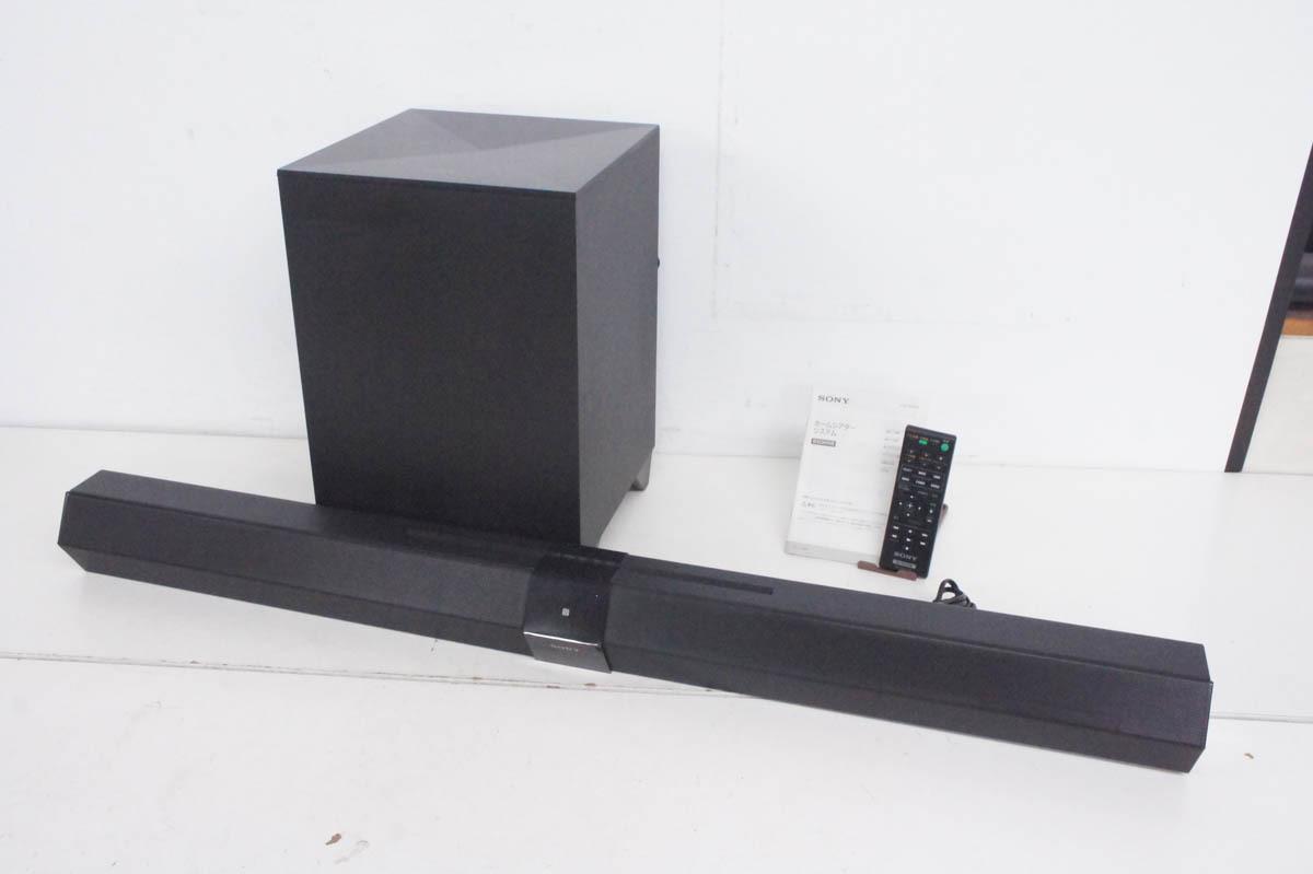 SONY ソニー ホームシアターシステム HT-CT660 リモコン付き 2013年製_画像1