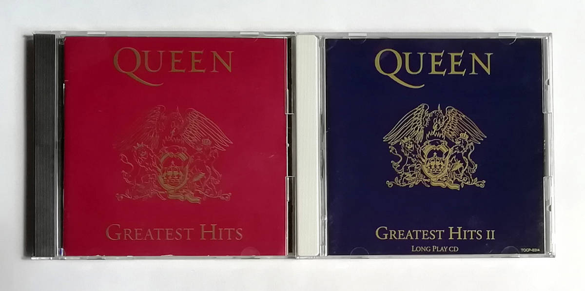 CD QUEEN GREATEST HITS 輸入盤 GREATEST HITS Ⅱ 国内盤 2枚