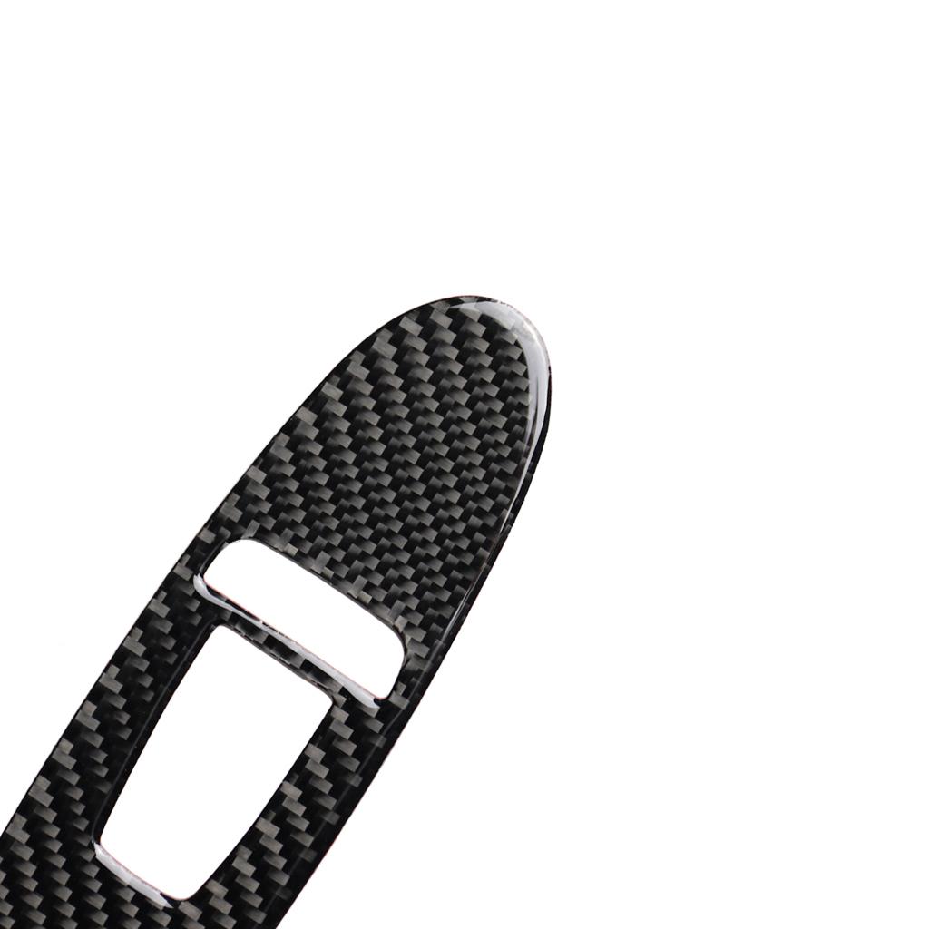 スカイライン V37 インフィニティ Q50 電気窓ダブルスイッチボタンカバーD カーボン_画像5