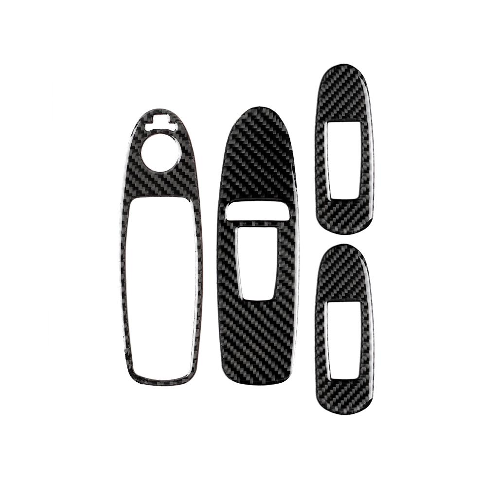 スカイライン V37 インフィニティ Q50 電気窓ダブルスイッチボタンカバーC カーボン_画像7
