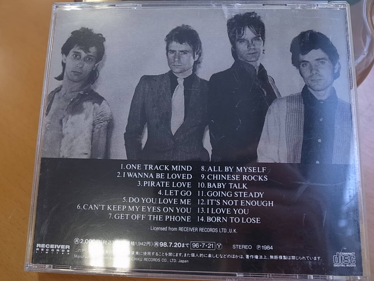 Johnny Thunders&The Heartbreakers L.A.M.F日本盤国内盤ジョニー・サンダース&ザ・ハートブレイカーズ解説歌詞付revisitedリヴィジテッド