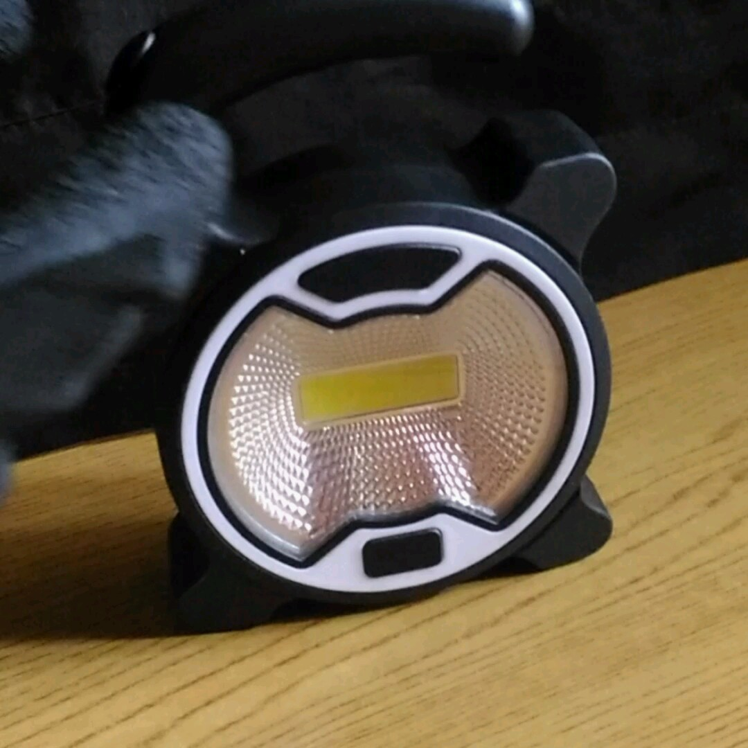 2wayライト(アウトドア・夜釣り・作業) 電池付属