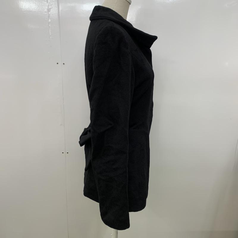 Spick & Span 36 スピック&スパン コート その他 ステンカラーショートコート 黒 / ブラック / 10021483_画像2