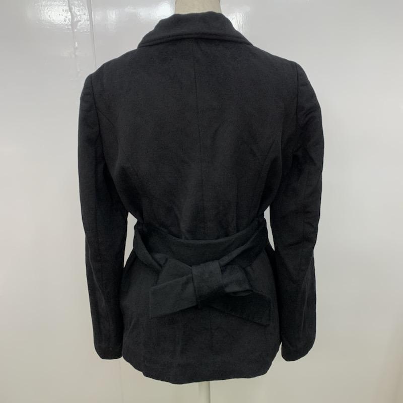 Spick & Span 36 スピック&スパン コート その他 ステンカラーショートコート 黒 / ブラック / 10021483_画像3