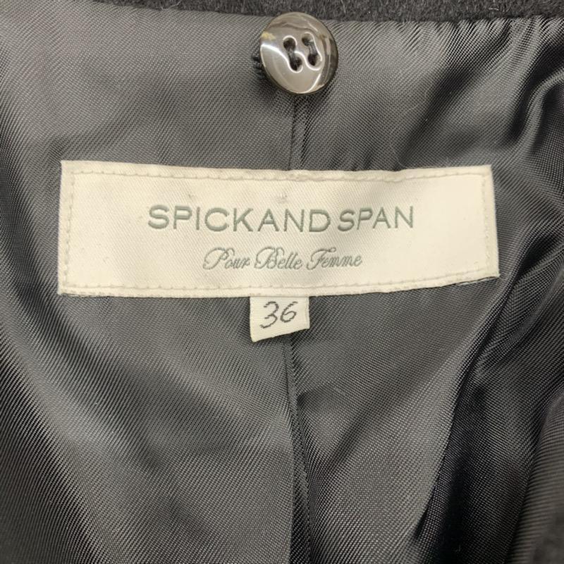 Spick & Span 36 スピック&スパン コート その他 ステンカラーショートコート 黒 / ブラック / 10021483_画像9