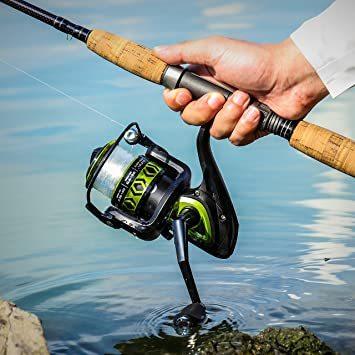 2000 2000 ランケル(RUNCL) スピニングリール 軽量 釣り リール 釣り具 左右交換可能 最大ドラグ力8Kg スム_画像7