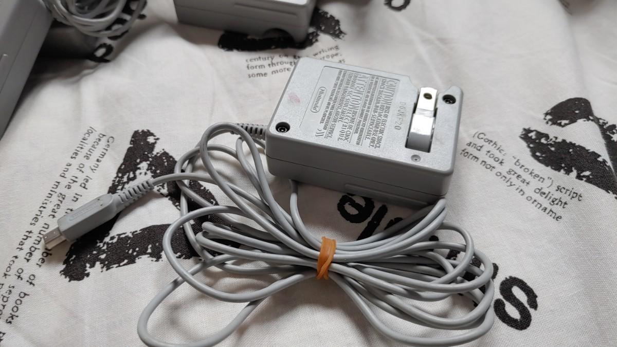 ★ ニンテンドー3DS ACアダプター WAP-002 充電器 純正品  ★ New3DSLL DSiLL New2DSLL