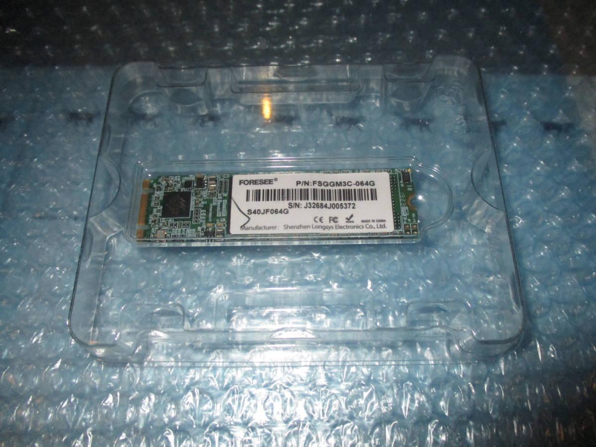送料無料 FORESEE 64GB M.2 2280 SSD SATA