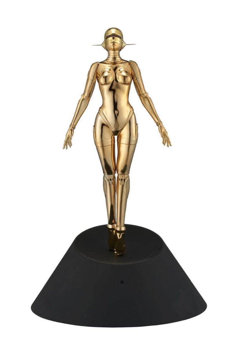 空山基 Sexy Robot floating 1/4 scale Gold ver HAJIME SORAYAMA HAJIME ゴールドバージョン PARCO_画像1
