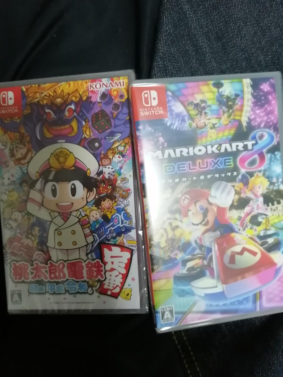 マリオカート8デラックス 桃太郎電鉄 Nintendo Switch ニンテンドースイッチ スイッチソフト