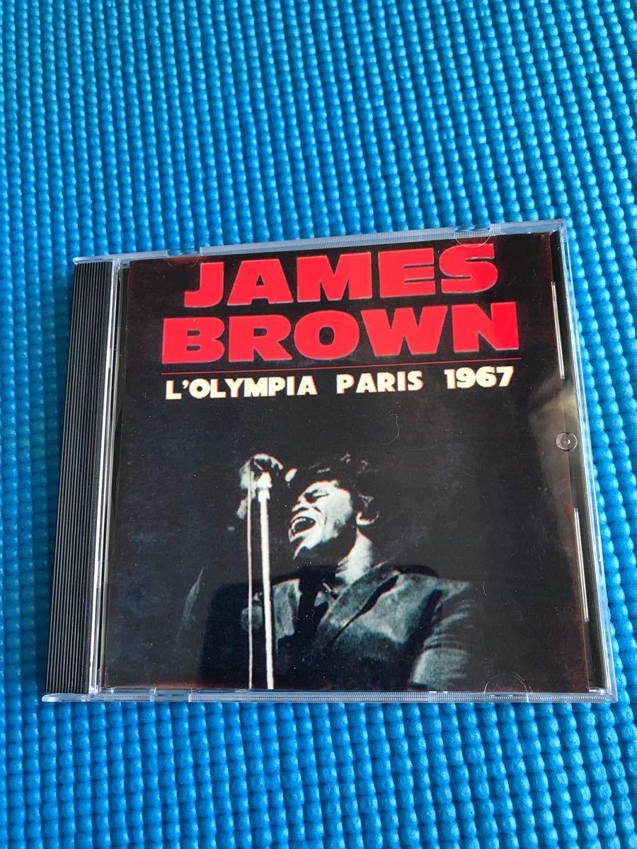 ジェームス・ブラウン L'OLYMPIA  PARIS  1967 / James Brown