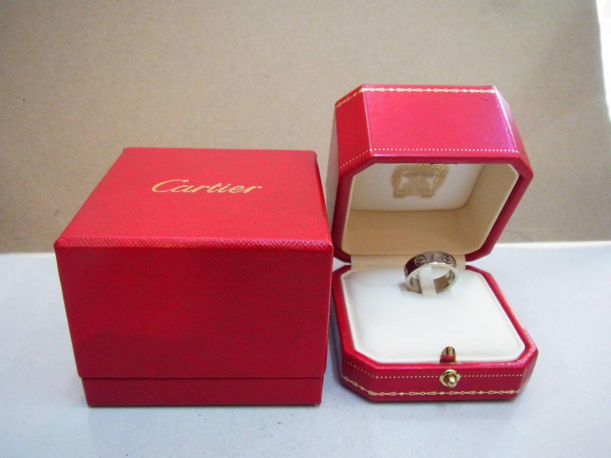 △#Cartier カルティエ ラブリング 750 _画像1