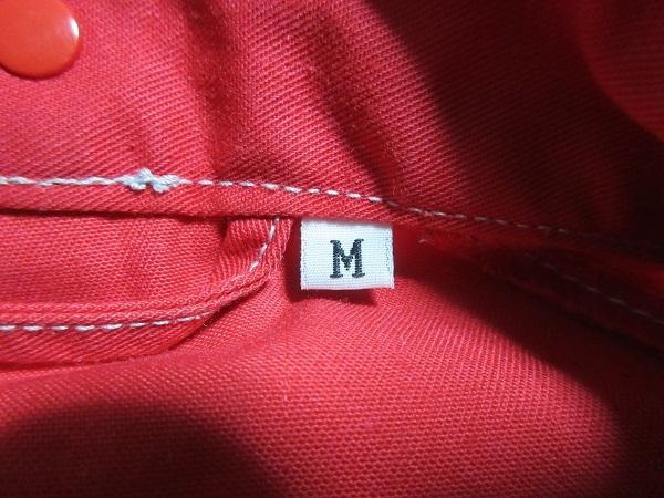 『 送料無料!』 ★人気モデル ♪【ニッサン・日産・NISSAN】 赤×グレー ♪ 作業服 長袖メカニックツナギ・オールインワン・M_画像3
