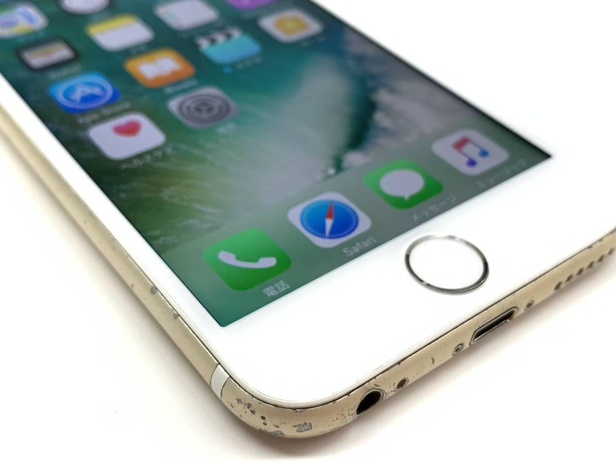 020142◆◇1スタ au SIMロック解除済み ○判定 Apple iPhone6S 64GB MKQQ2J/A ゴールド ジャンク品◇◆_画像5