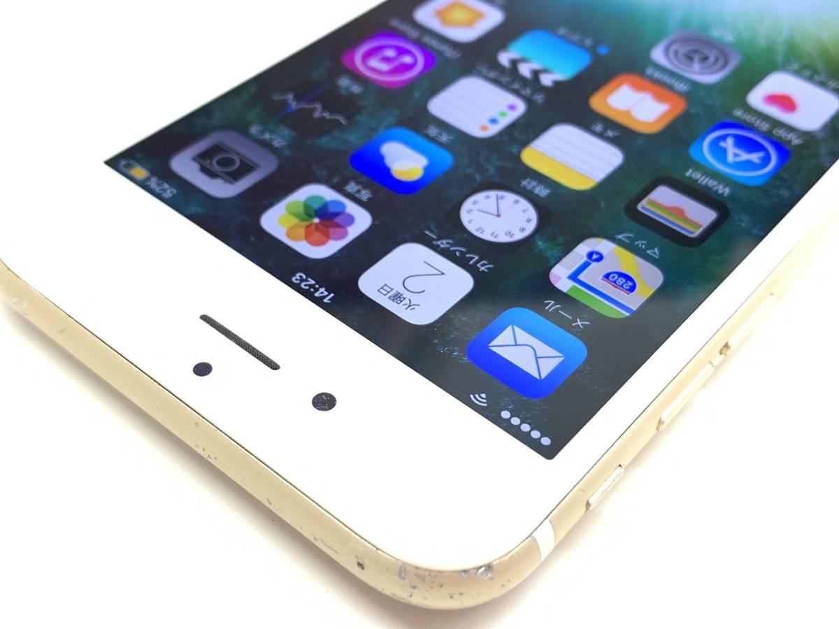 020142◆◇1スタ au SIMロック解除済み ○判定 Apple iPhone6S 64GB MKQQ2J/A ゴールド ジャンク品◇◆_画像4