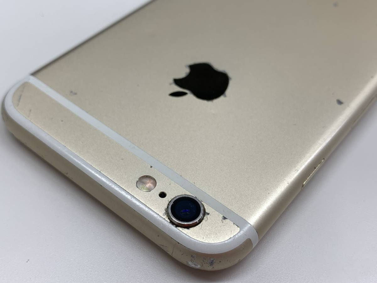 020142◆◇1スタ au SIMロック解除済み ○判定 Apple iPhone6S 64GB MKQQ2J/A ゴールド ジャンク品◇◆_画像9