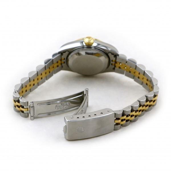 ロレックス ROLEX デイトジャスト 69173 シャンパン文字盤 中古 腕時計 レディース_画像5
