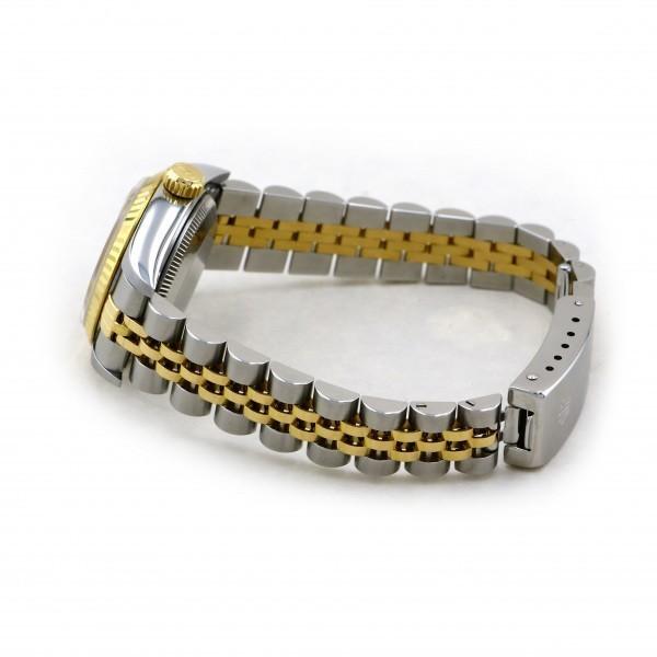ロレックス ROLEX デイトジャスト 69173 シャンパン文字盤 中古 腕時計 レディース_画像3