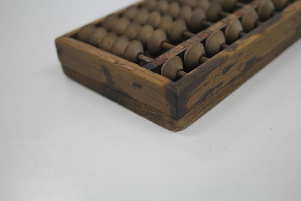 五つ玉算盤 昭和レトロ 記念品_画像2