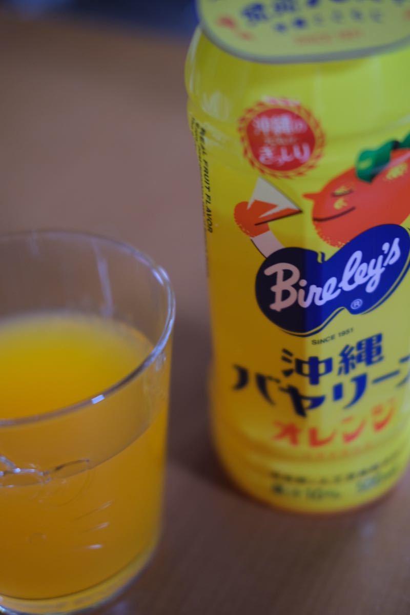 沖縄バヤリース オレンジ 500mlX24本