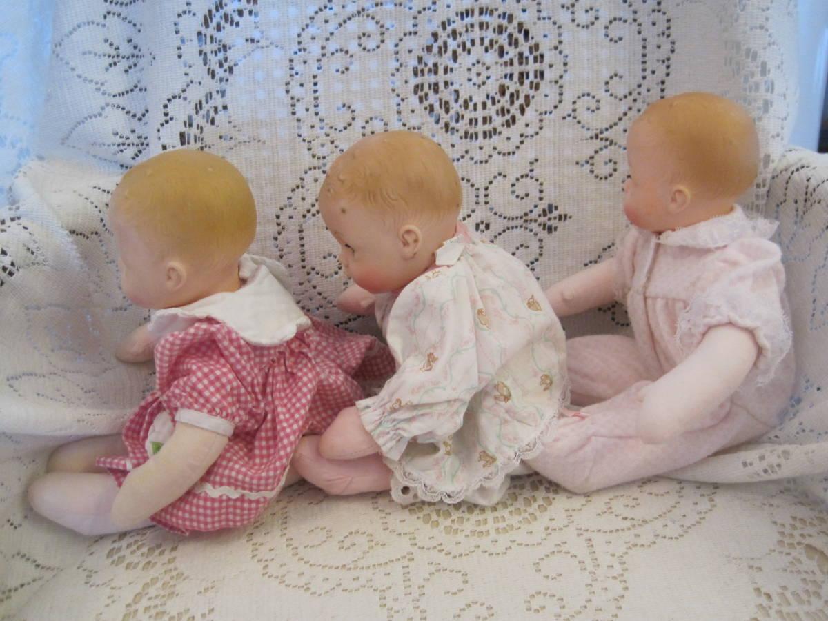 マダムアレクサンダー ベビードール 人形 3体(1体はスクィーキー) USA ビンテージ 1977年_画像2