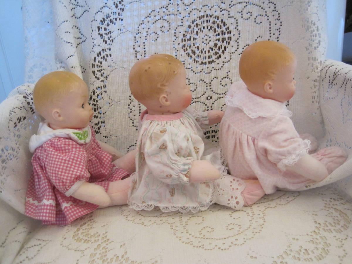 マダムアレクサンダー ベビードール 人形 3体(1体はスクィーキー) USA ビンテージ 1977年_画像4