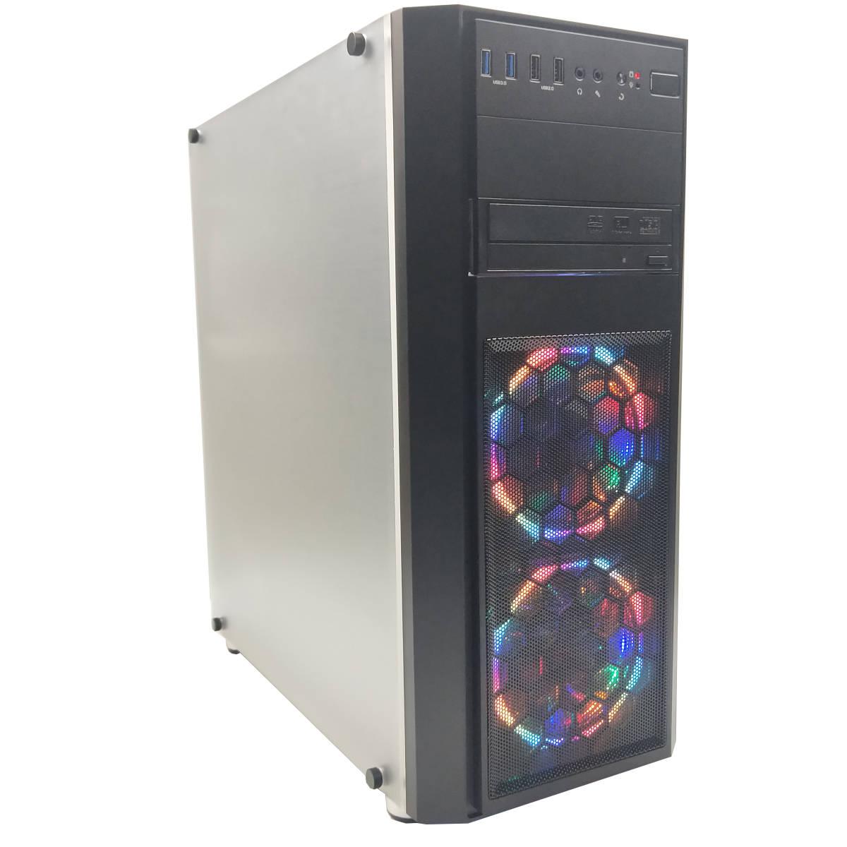 ■驚速 超美品 新品ケース DELL3800改 i7-4790 4.0Gx8/16GB■新SSD480GB+大容量HDD2TB Win10/Office2019Pro/HDMI/追加 無線WIFI/USB3.0 SK5