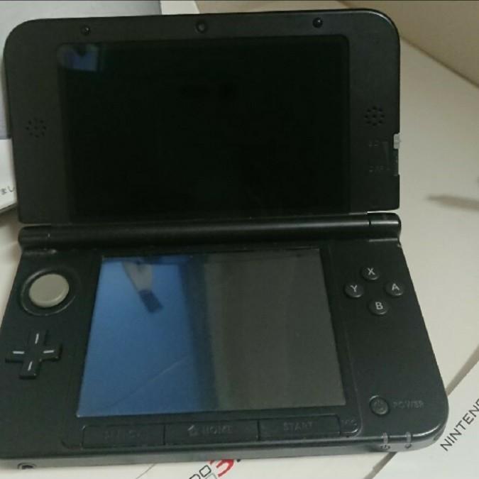 Nintendo 3DS  LL 本体 シルバー/ブラック