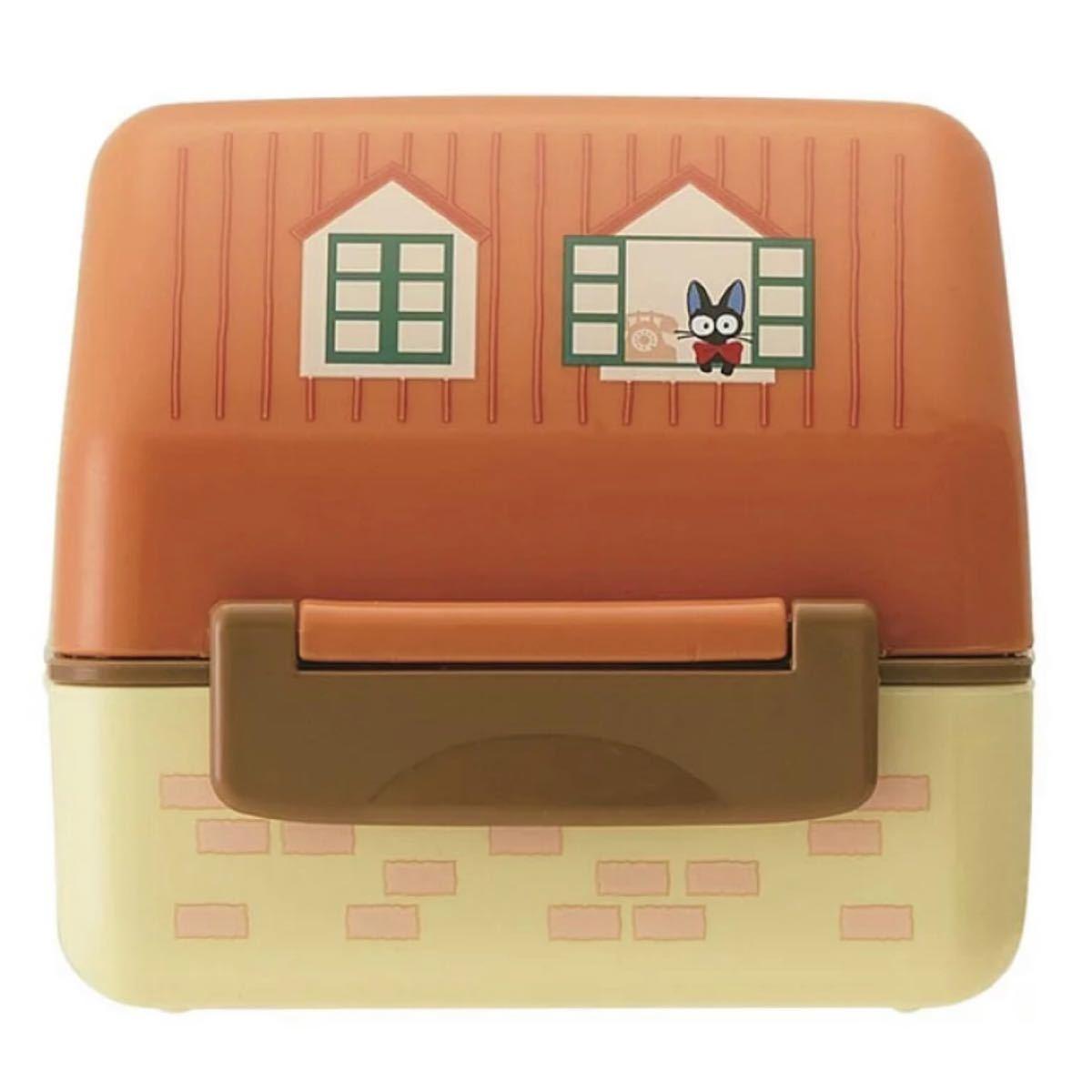 魔女の宅急便 おにぎり ランチボックス 新品 ジブリ おにぎりケース お弁当箱 ジジ リリー 2段弁当箱 弁当箱