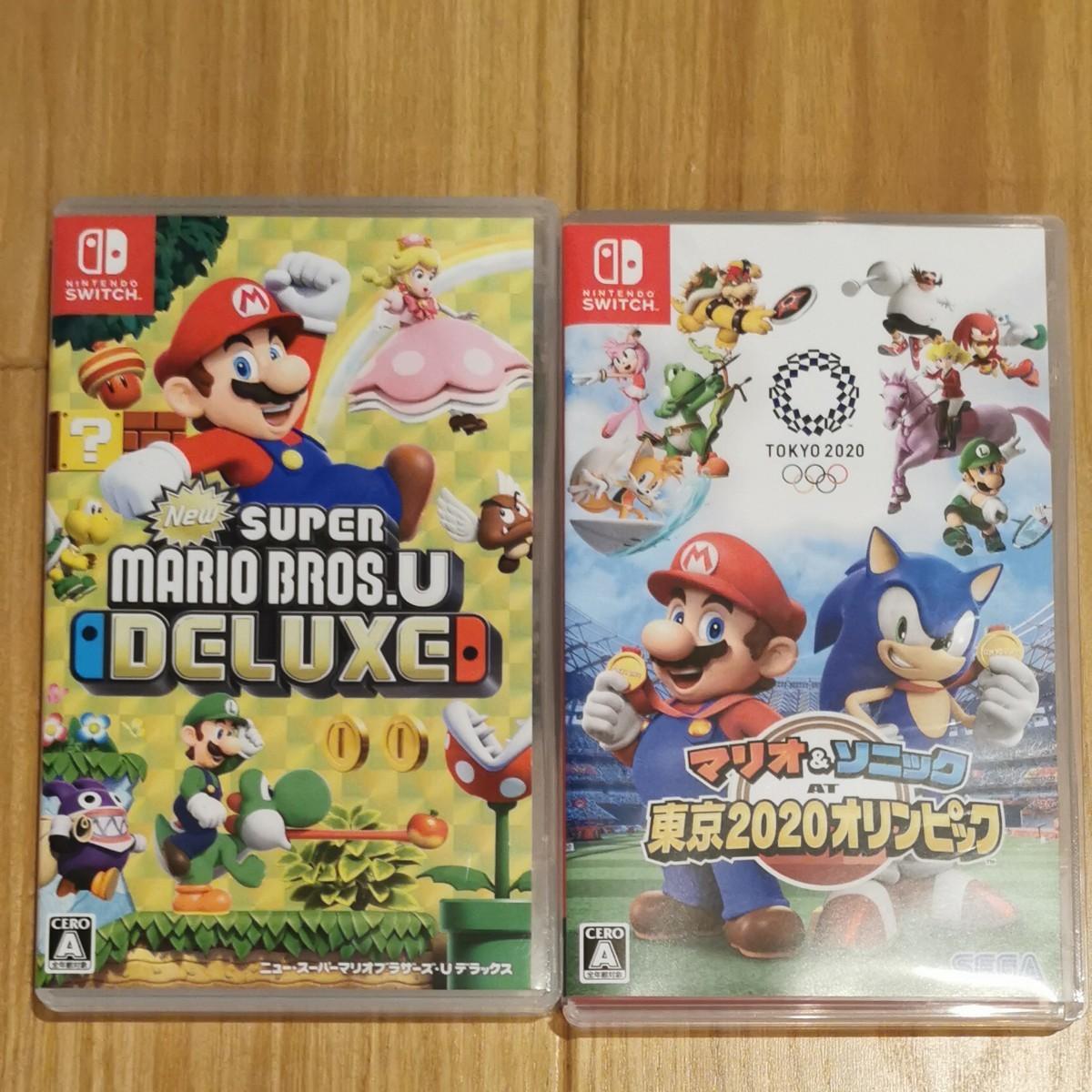 Nintendo Switch NewスーパーマリオブラザーズU マリオ&ソニックAT東京2020オリンピック セット
