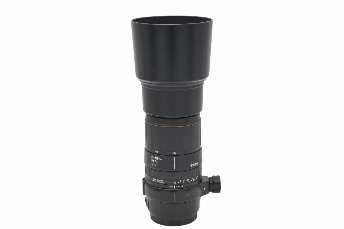 10225cmrk ◆ SIGMA シグマ APO 135-400mm F4.5-5.6 望遠ズームレンズ キヤノン EFマウント