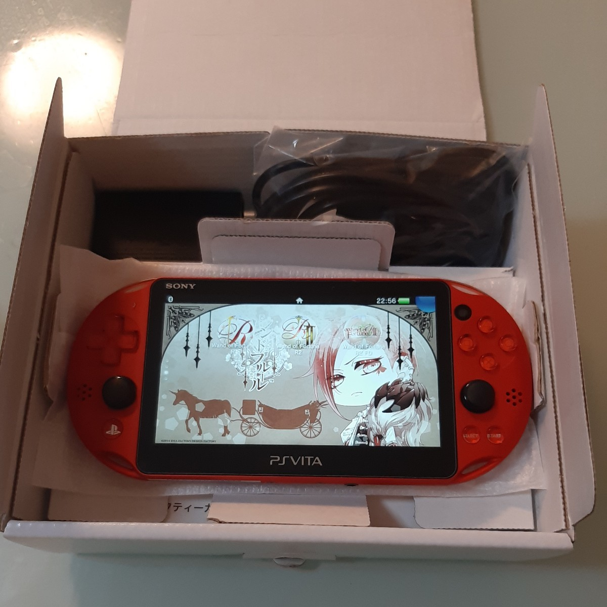 PlayStation Vita Wi-Fiモデル PCH-2000 ZA26