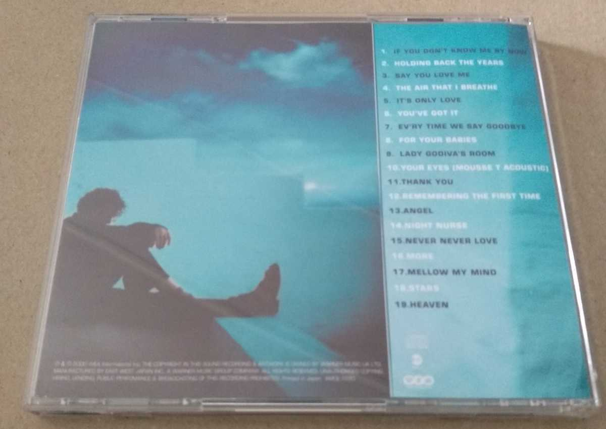 CD シンプリー・レッド★ラヴ・ソング・コレクション★Simply Red★It's Only Love★If you don't know me by now Angel Stars Heaven
