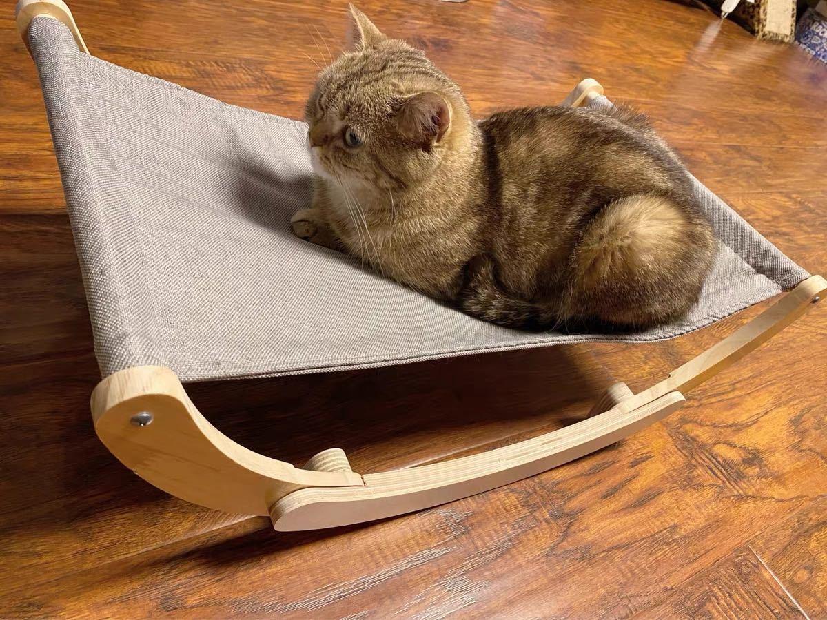 猫 犬 ペット用寝床 ロッキングベッド リラックス 揺れベッド ペットグッズ