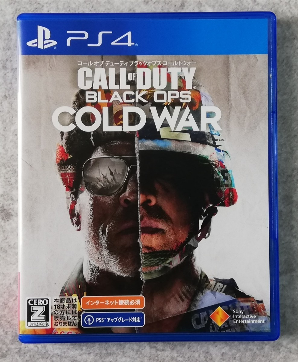PS4ソフト CALL OF DUTY BLACK OPS COLD WAR