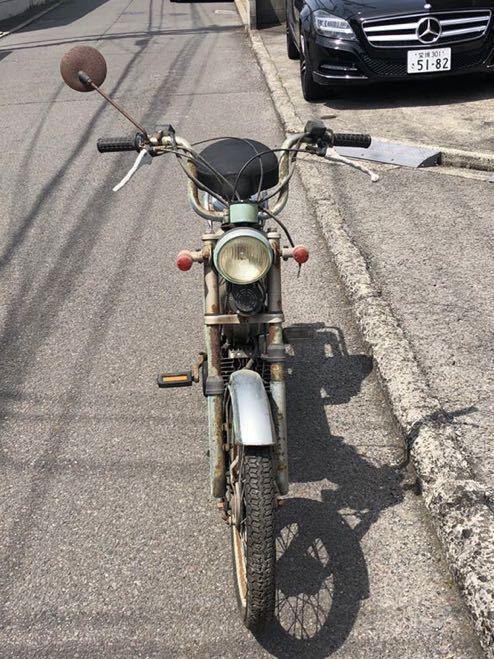 「TOMOS トモス 走行距離3406km モペッド モペット 自転車バイク レストアベース 部品取り 現状 104-10」の画像3