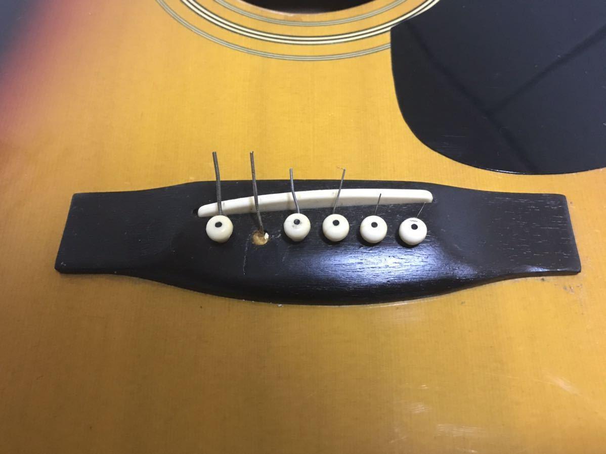 A295☆送料無料匿名発送☆Pro Martin GUITAR 中古クラシックギター ジャンク 現状品_画像8