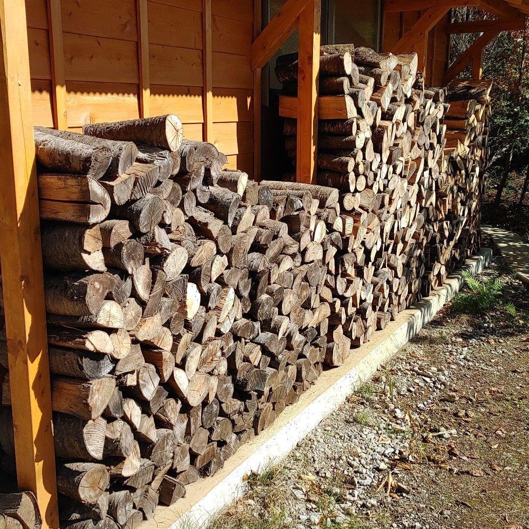 薪ストーブ用の薪 桜 引き取り限定_画像1