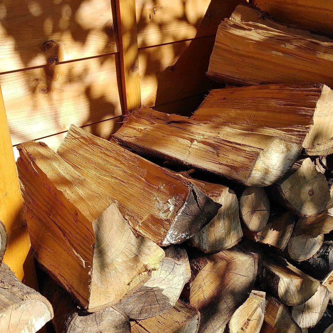 薪ストーブ用の薪 桜 引き取り限定_画像4