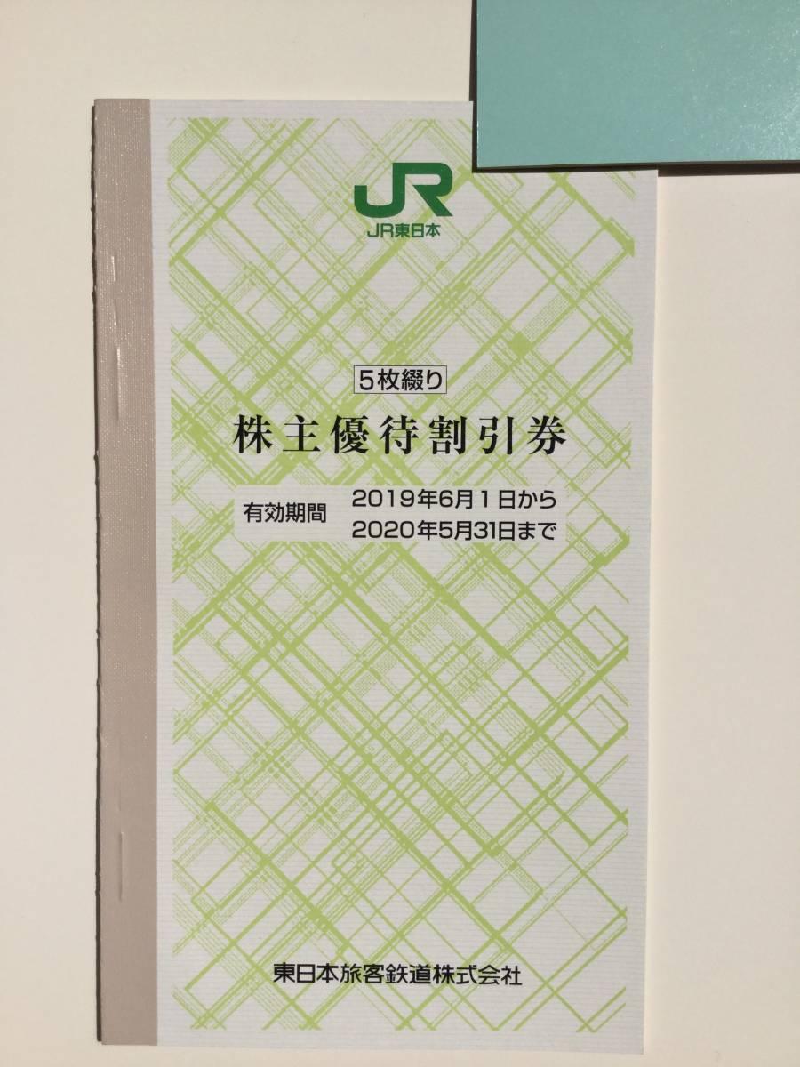 JR東日本 株主優待割引券 5枚1セット 2021年5月末期限_画像1