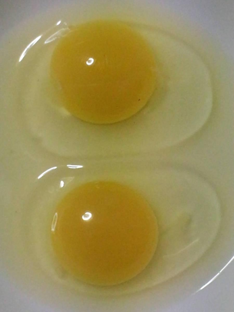 鶏有精卵 10個 + アローカナ有精卵 10個   合計20個     04.20_画像7