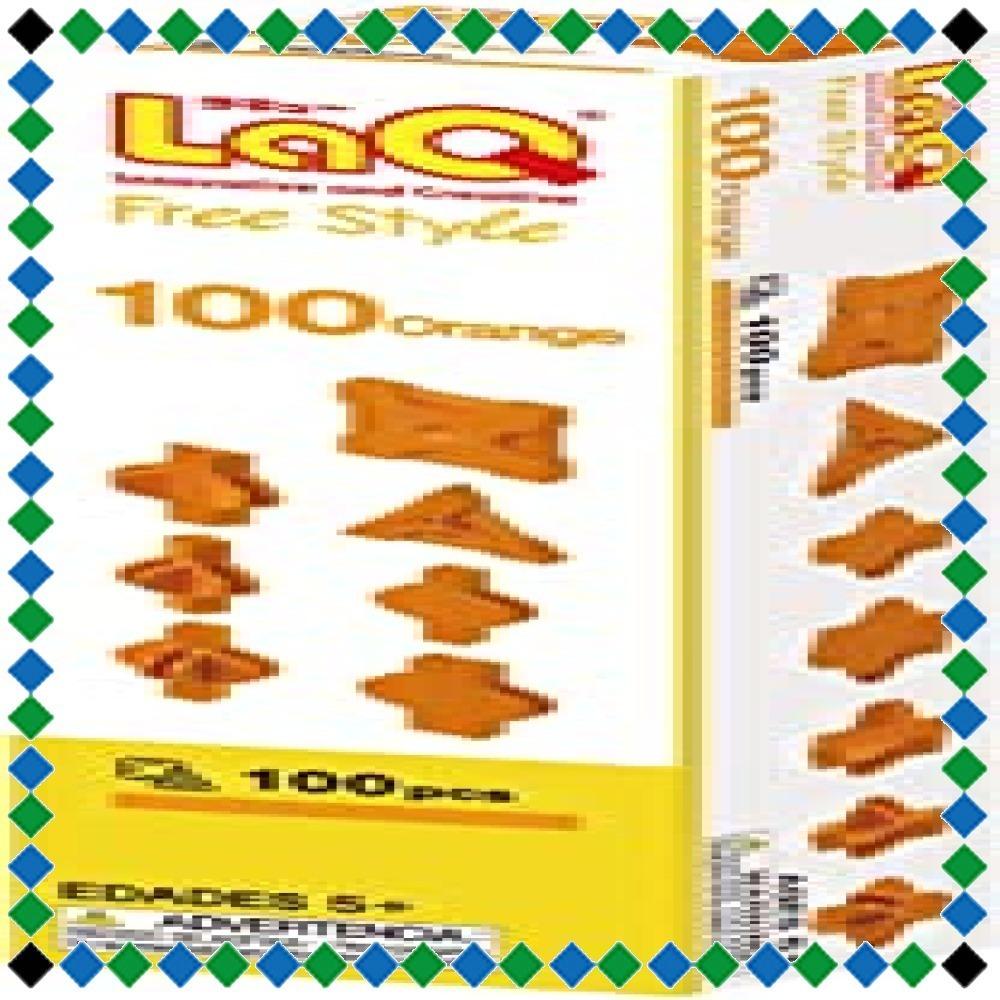 【特価】ラキュー (LaQ) フリースタイル(FreeStyle) 100オレンジ (LaQ) フリースタイル(Free_画像2