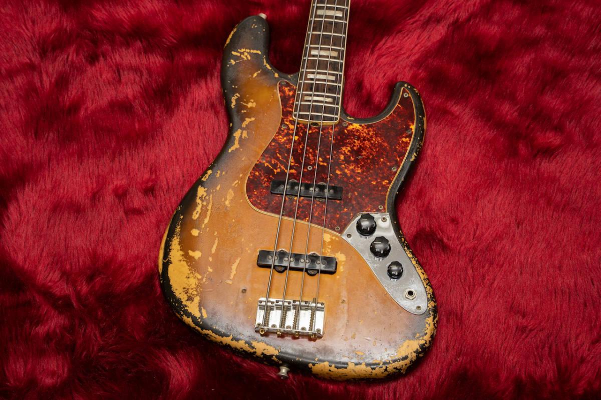 Fender 1971 Jazz Bass 3TS #306823 4.26kg - Geek IN Box -_画像6