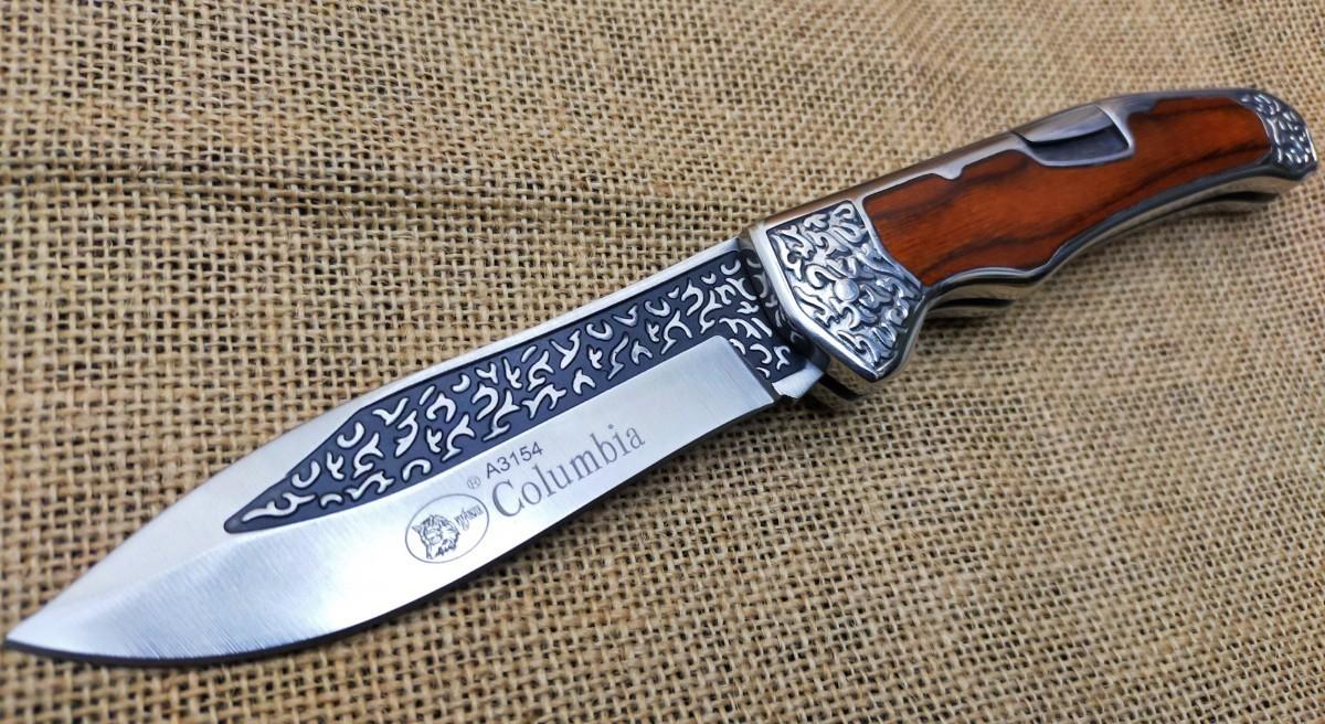 COLUMBIA KNIFE フォールディングナイフ  キャンプ アウトドア 焚き火 フィッシング