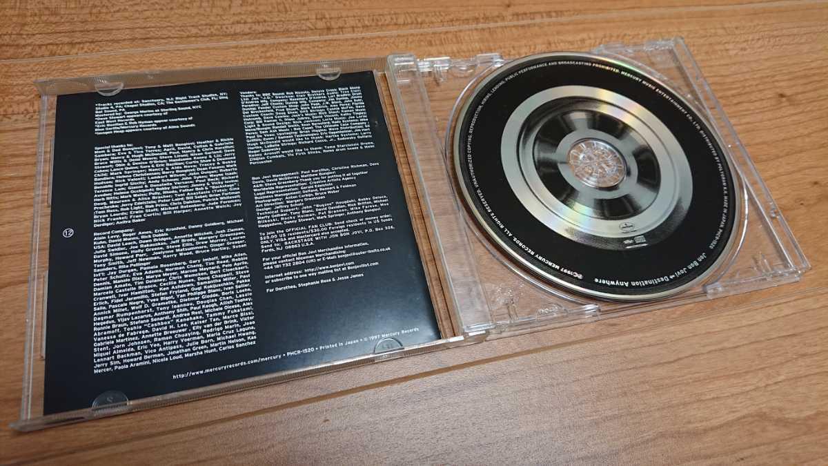 Jon Bon Jovi / ジョン・ボン・ジョヴィ Destination Anywhere CD Bon Jovi