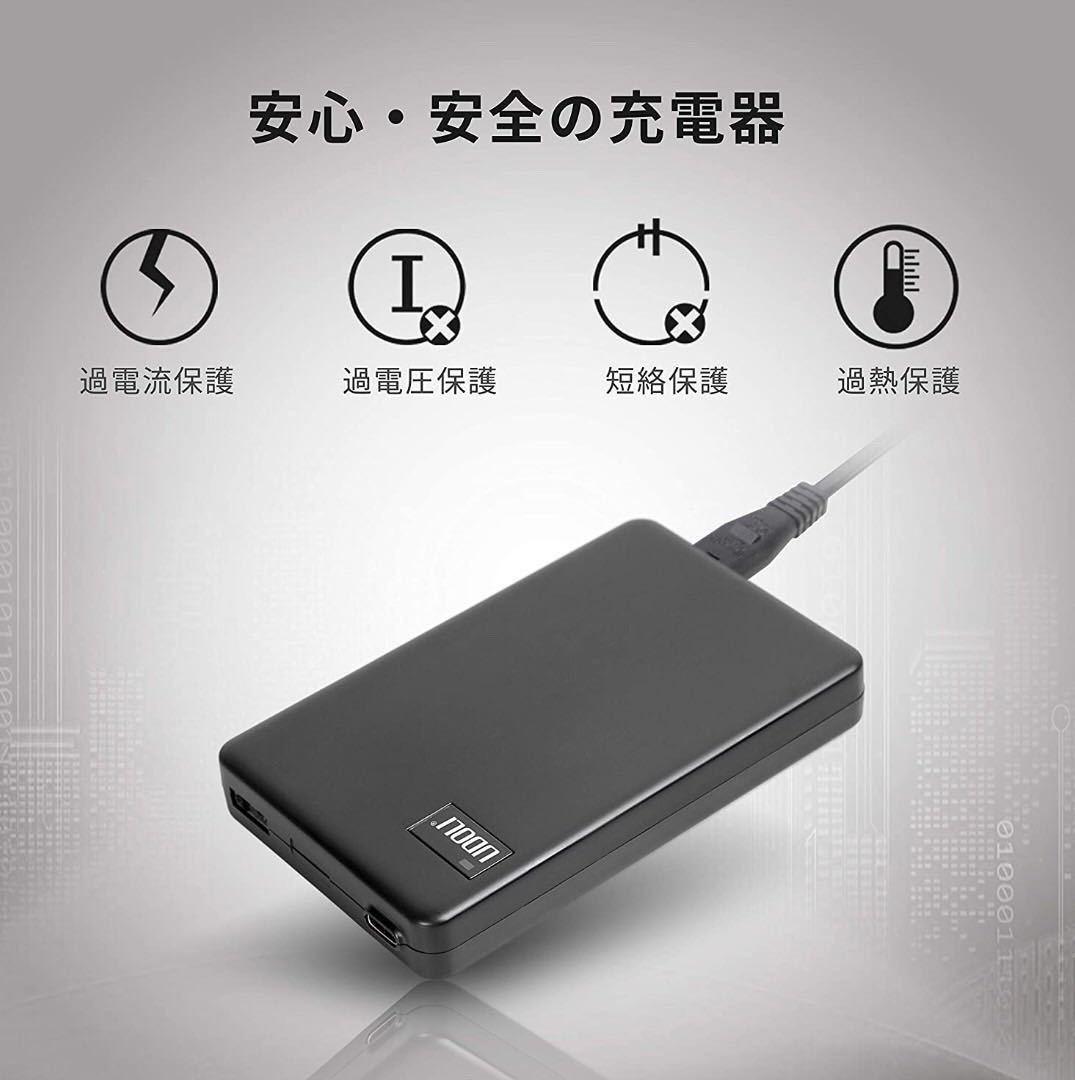 USB-C急速充電器 Type-C 2ポート薄型 AC アダプター (PSE認証済/PD/QC3.0/Power Deliver対応) iPhone 12/ iPhone 11 / iPad Pro/iPad Air4_画像5