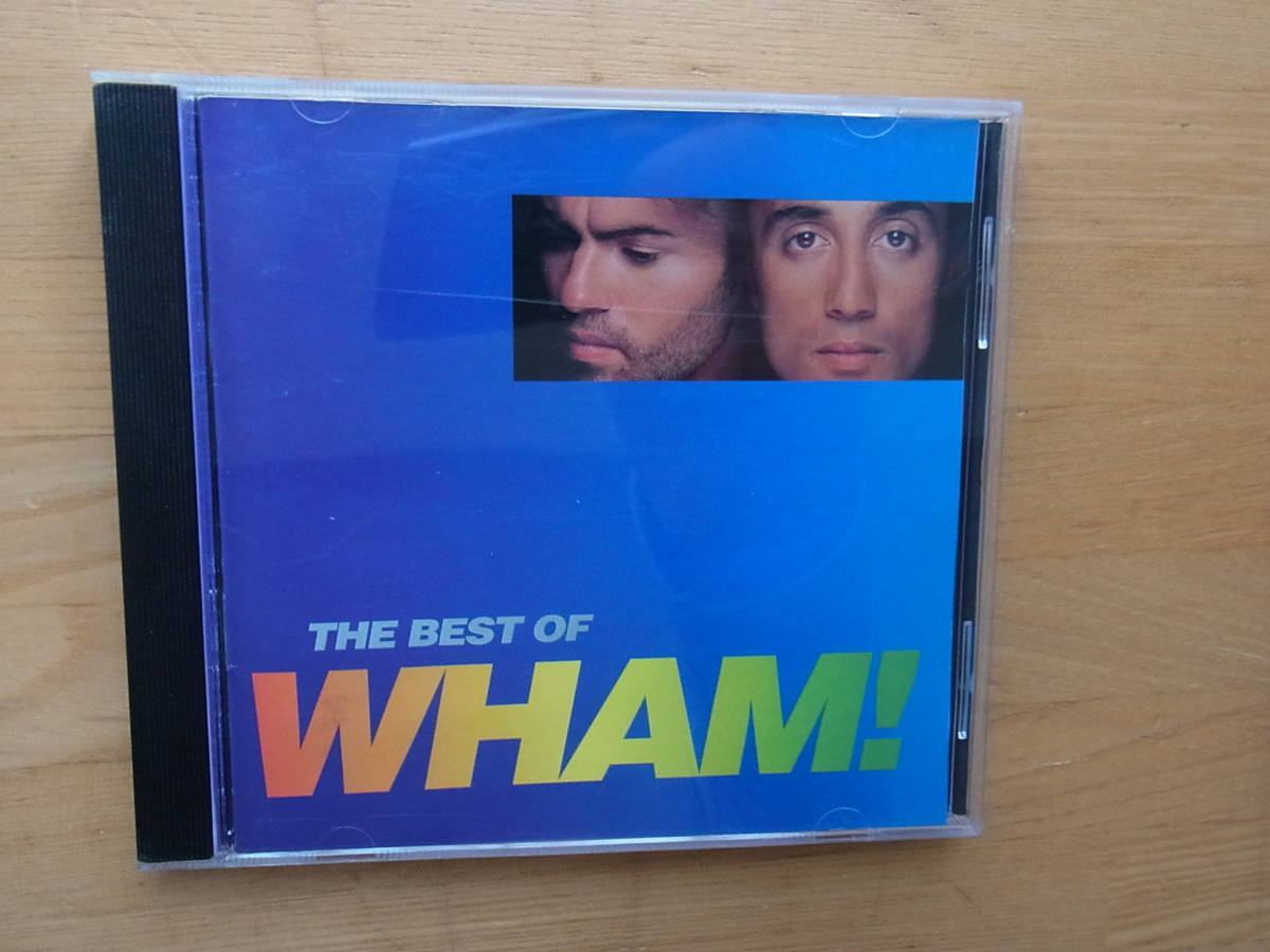 CD WHAM! THE BEST OF 輸入盤 ワム!