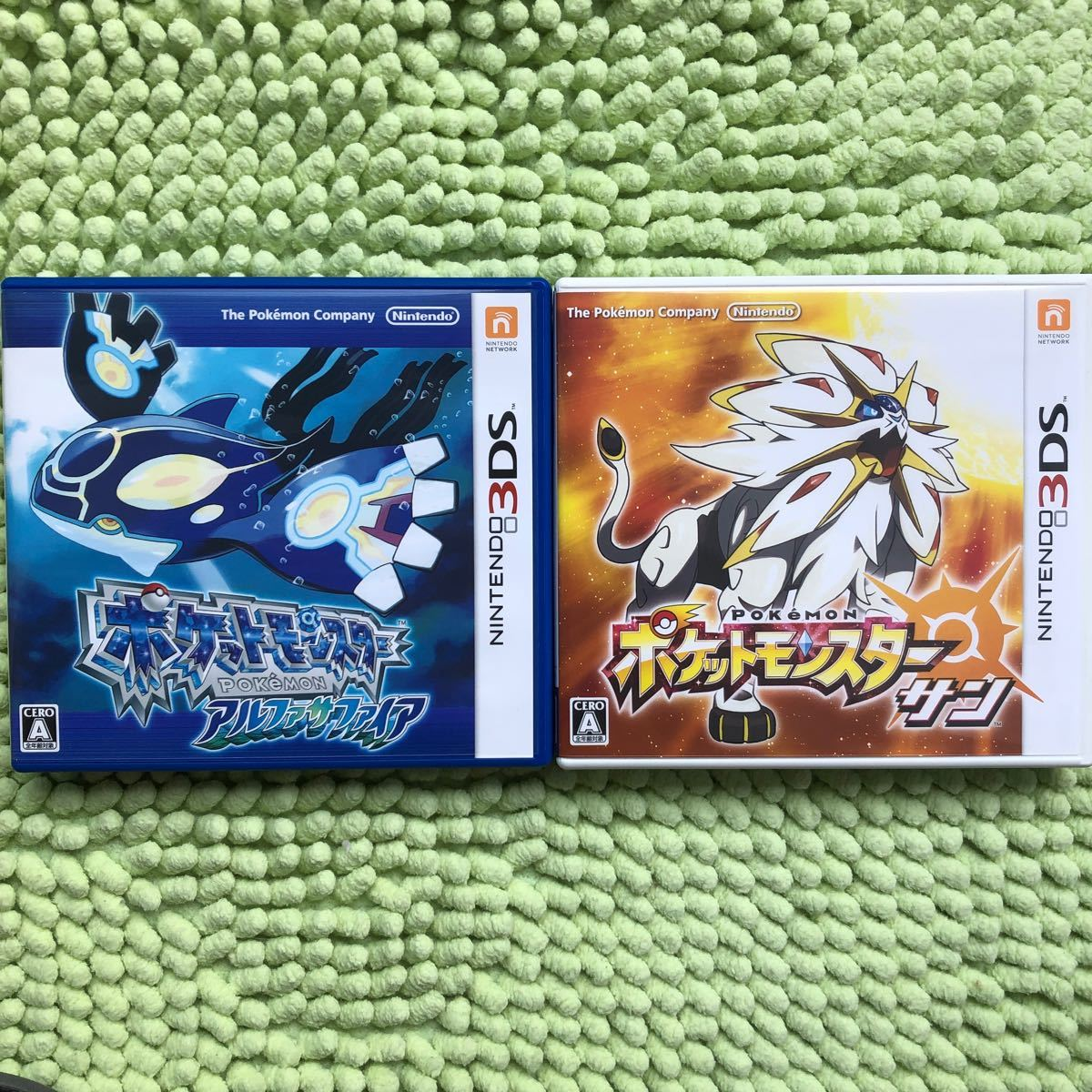 3DS  ポケットモンスター アルファサファイア &  ポケットモンスターサン