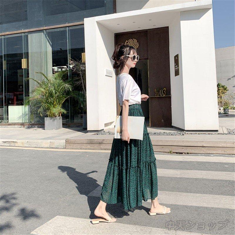 スカートレディース きれいめ 着痩せ スカート プリーツスカート ゆったり プリーツスカート Aラインロングスカート 着痩せ 20代30代40代