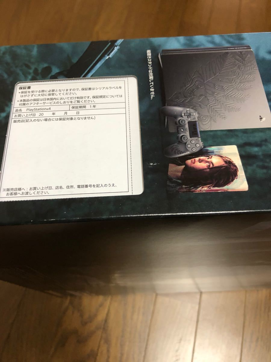 PS4 Pro The Last of Us Part II Limited Edition CUHJ-10034ラストオブアス2